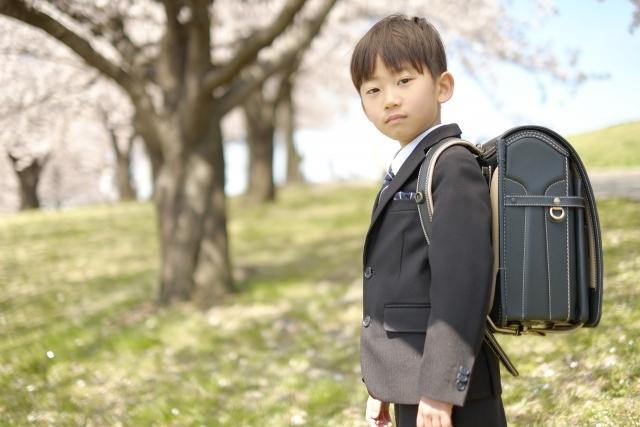 入学準備にランドセルを